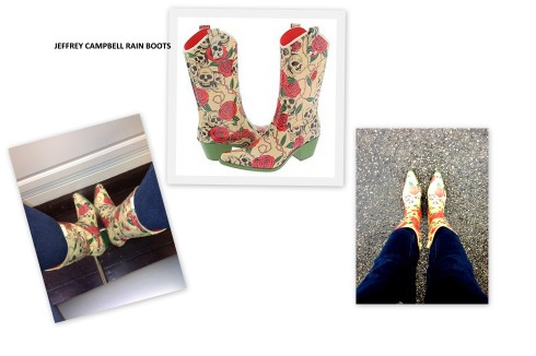 JC rain boots