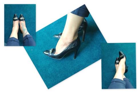 shoe blue