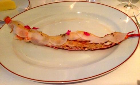 aiguilette de homard bleu nuit aciduleaumielnouveau